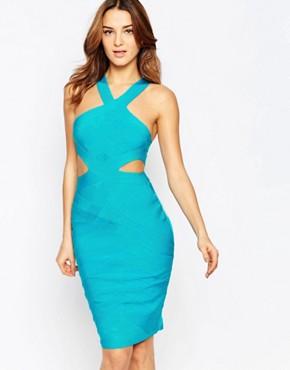 Forever Unique Lagoon Bandage Dress