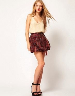 Image 1 ofASOS Mini Skirt In Tartan