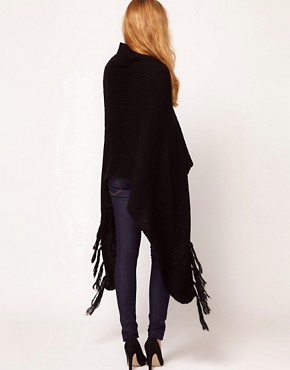Image 2 ofRare Fringed Poncho