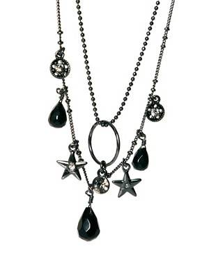 Image 4 ofPilgrim Gem and Star Necklace