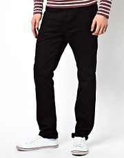 Paul Smith Jeans Drainpipe Jeans in Black