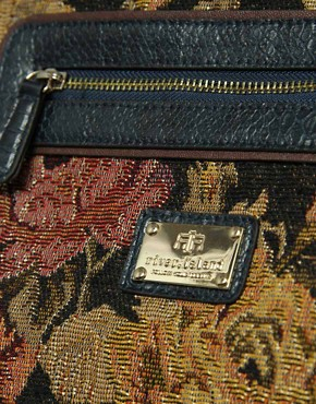 Image 2 ofRiver Island Large Tapestry Weekend Bag