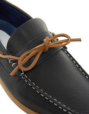 Image 2 ofRiver Island Nolan Tie-Front Loafers