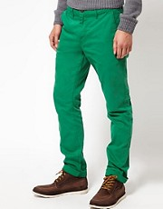 Solid Slim Chinos