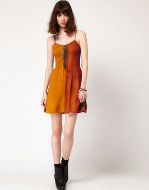 Image 4 ofEvil Twin &#39;Walking Dawn&#39; Strappy Skater Dress
