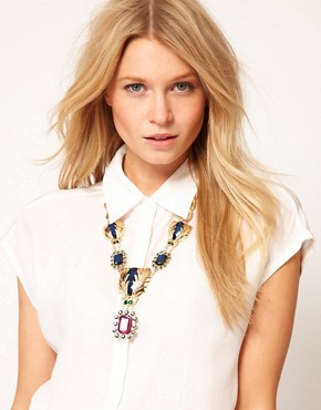 Image 3 ofASOS Premium Darling Bug Necklace