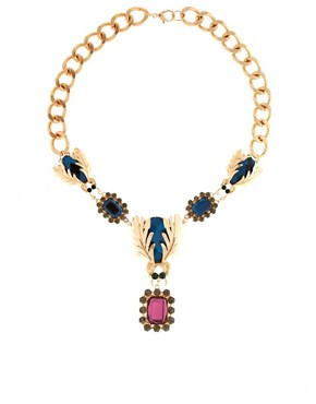 Image 1 ofASOS Premium Darling Bug Necklace
