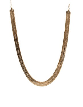 Image 1 ofLimited Edition Flat Chain Necklace