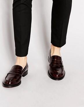Rolando Sturlini Classic Leather Loafers