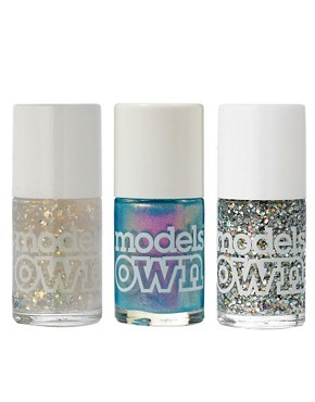 Image 1 ofModels Own ASOS Exclusive Wonderland Nail Polish Trio SAVE 20%