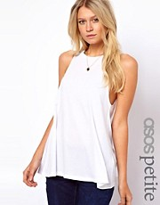 ASOS PETITE Vest with Extreme Swing