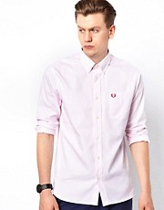 Fred Perry Oxford Shirt with Stripe