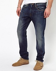 Edwin Jeans ED-55 Relaxed Tapered Blurred Wash