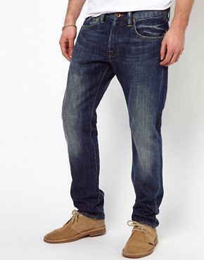 Image 1 ofEdwin Jeans ED-55 Relaxed Tapered Blurred Wash