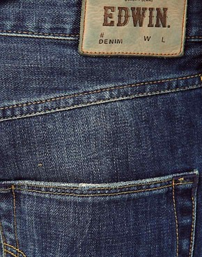 Image 4 ofEdwin Jeans ED-55 Relaxed Tapered Blurred Wash