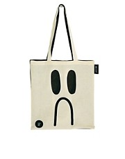 Lazy Oaf Happy Sad Tote Bag
