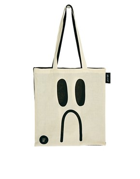 Image 1 ofLazy Oaf Happy Sad Tote Bag