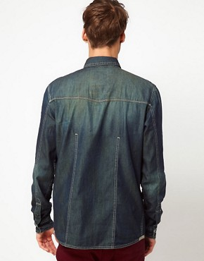 Image 2 ofSolid Denim Shirt