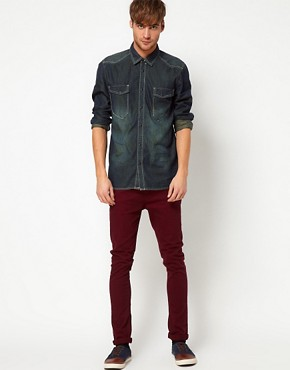 Image 4 ofSolid Denim Shirt