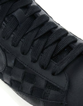 Image 4 ofNike Blazer Mid Hyper Black High Top Trainers