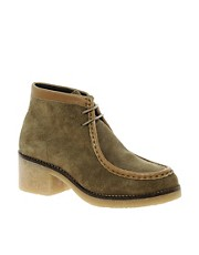 Swear Leather Chiara4 Lace Up Wallabee Boot