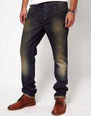 Denham Jeans Slim Fit In Mid Wash