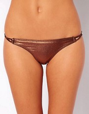 By Caprice Glam Loop Side Bikini Bottom