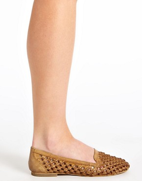 Image 3 ofRiver Island Sabara Woven Slipper Shoes