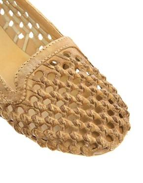 Image 4 ofRiver Island Sabara Woven Slipper Shoes