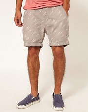 Supremebeing Chino Shorts Havana Print