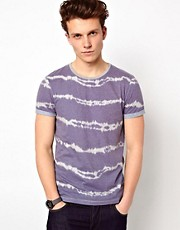 ASOS T-Shirt With All Over Tie Dye