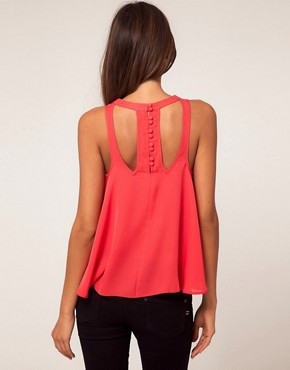 Image 2 ofASOS Swing Top With Cut Out Details