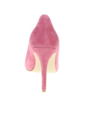 Image 2 ofASOS SANTO Suede Point Court Shoes