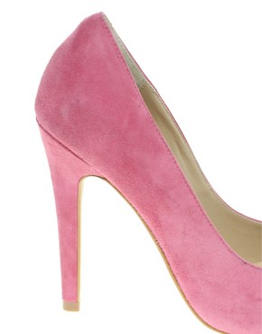 Image 3 ofASOS SANTO Suede Point Court Shoes