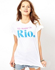 Camiseta My Name is Rio de Wildfox