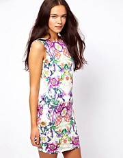 ASOS Floral Printed Square Back