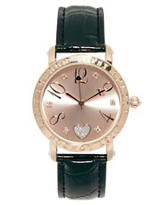 Lipsy Heart Face Watch