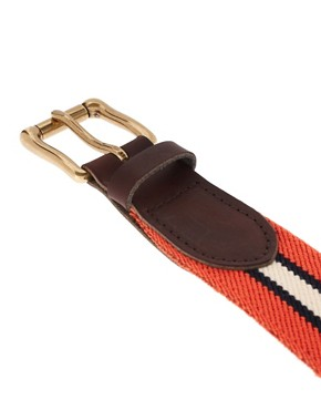 Image 2 ofASOS Stripe Elastic Belt