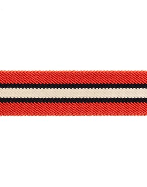 Image 4 ofASOS Stripe Elastic Belt