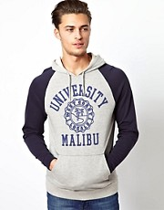 ASOS Hoodie With Varsity Print