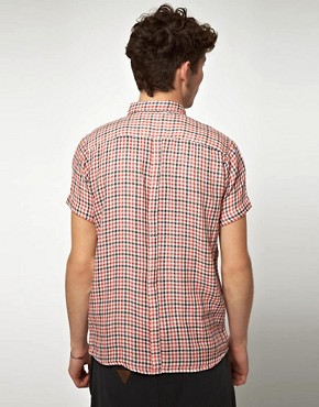 Image 2 ofSupremebeing Demode Cheesecloth Check Short Sleeve Shirt