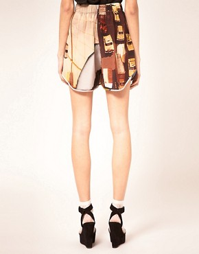 Image 2 ofLouise Amstrup Shorts In Bay Print