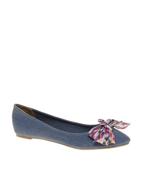 Image 1 ofASOS LIGHT Pointed Ballet Flats