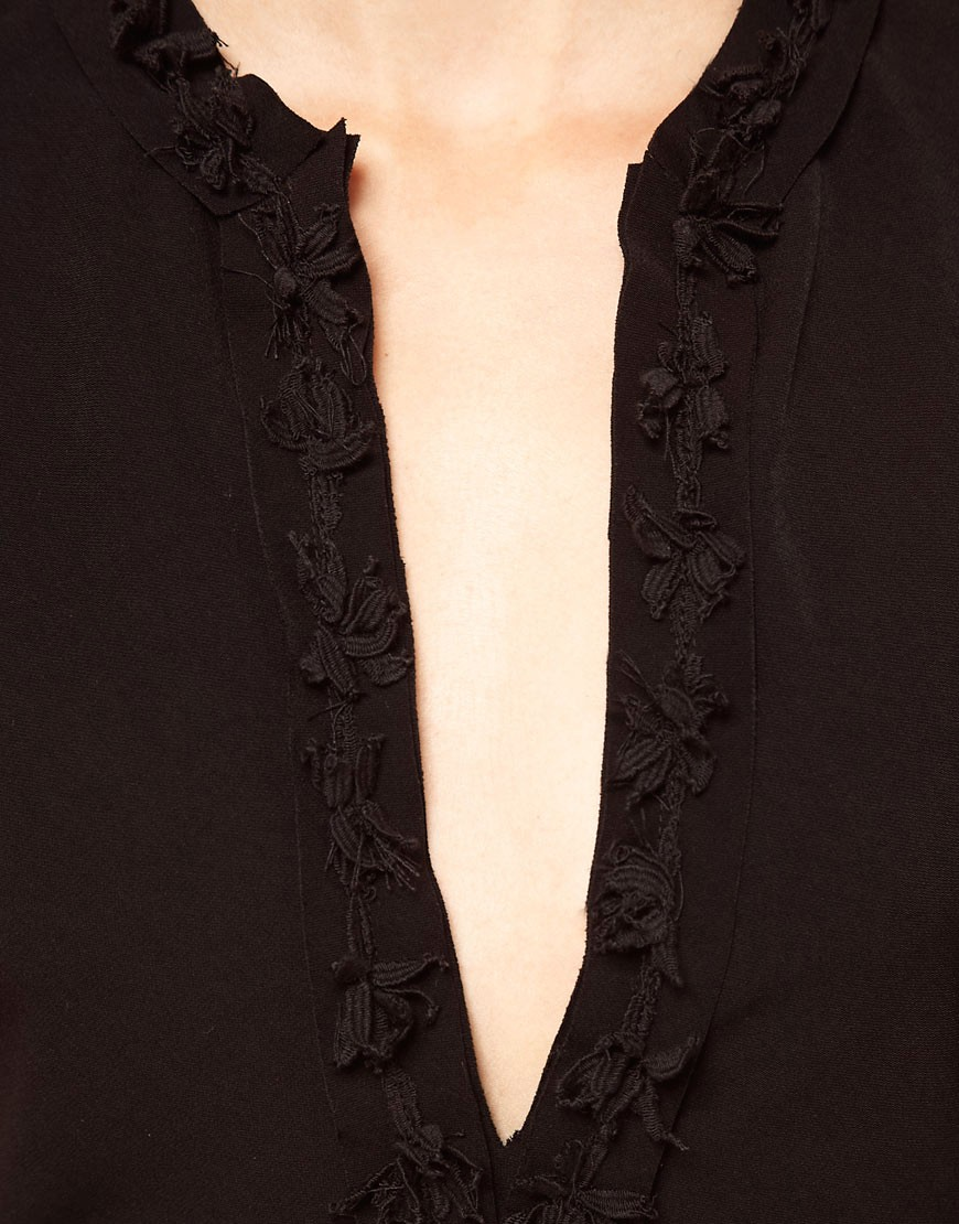 Image 3 of Kore by Sophia Kokosalaki Lace Trim Tunic