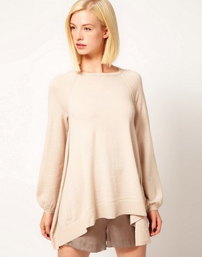 Image 1 ofKore by Sophia Kokosalaki Merino A Line Jumper