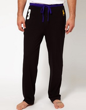 Image 1 ofPolo Ralph Lauren Number 3 Large Polo Player Lounge Pants