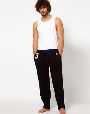 Image 4 ofPolo Ralph Lauren Number 3 Large Polo Player Lounge Pants
