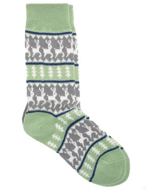 Image 3 ofASOS Deer Fairisle Socks