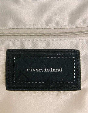Image 2 ofRiver Island Twist Lock Tote Bag