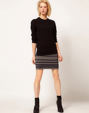 Image 1 ofRag And Bone/JEAN Knitted Stripe Skirt